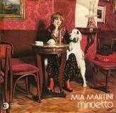 Mia Martini, copertina Minuetto